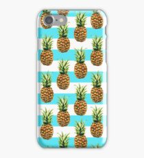 Pineapples & Stripes iPhone Case/Skin