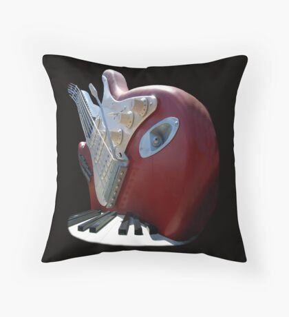 ROCK n ROLL T Throw Pillow