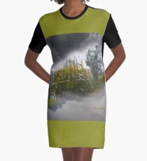 Weather Graphic T-Shirt Dress