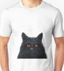 Black Cats Get a Bad Rap - cat art T-Shirt