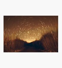 Star Trail Photographic Print