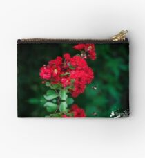 Crape Myrtle and Bee Studio Pouch