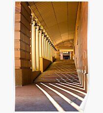 Hallowed Corridors of Bond University Poster