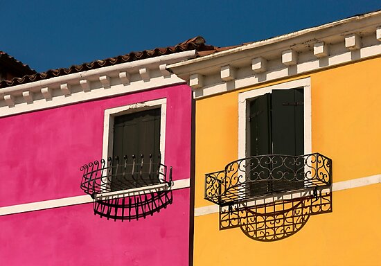 Colours of Burano Italy by Patricia Jacobs DPAGB BPE4