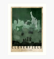 Cloverfield Art Print