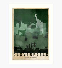 Cloverfield Art Print