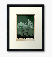 Cloverfield Framed Print