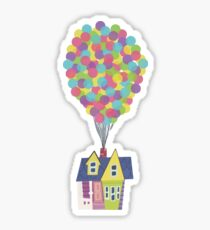 Balloon House Sticker
