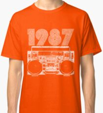 1987 Boombox Classic T-Shirt