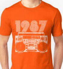 1987 Boombox Unisex T-Shirt