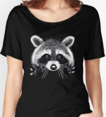Little raccoon buddy Women's Relaxed Fit T-Shirt