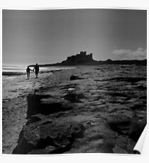Bamburgh Couple Poster