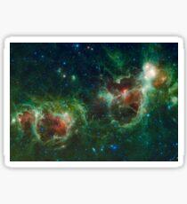Heart and Soul Nebula IC 1805 Sharpless 2-190 Sticker