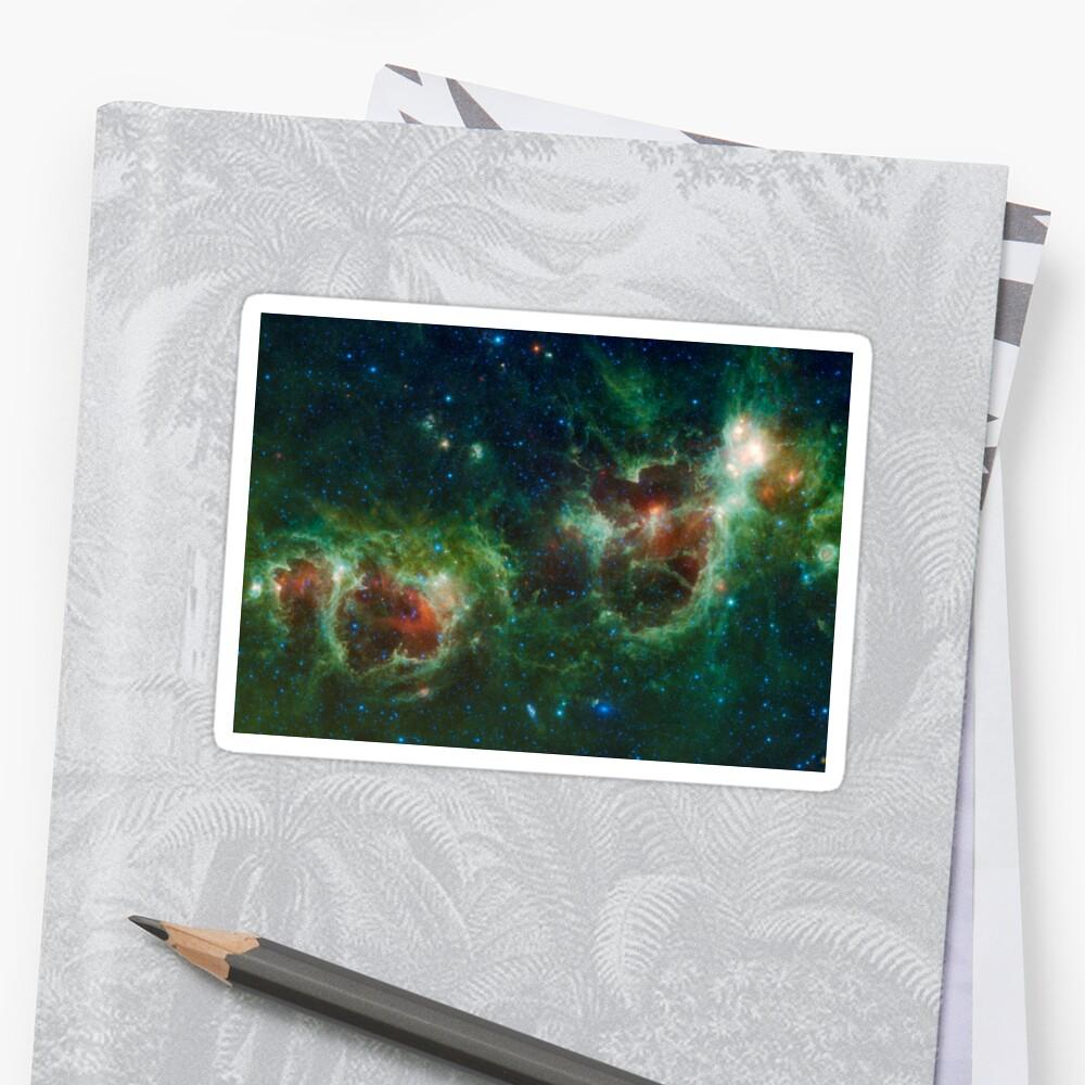 Heart and Soul Nebula IC 1805 Sharpless 2-190 by allhistory