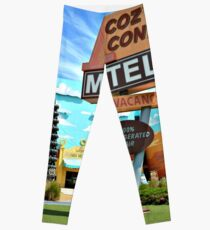 Cozy Cone Motel Leggings