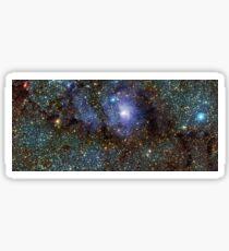 Lagoon Nebula Messier 8 M8 NGC 6523 Sticker