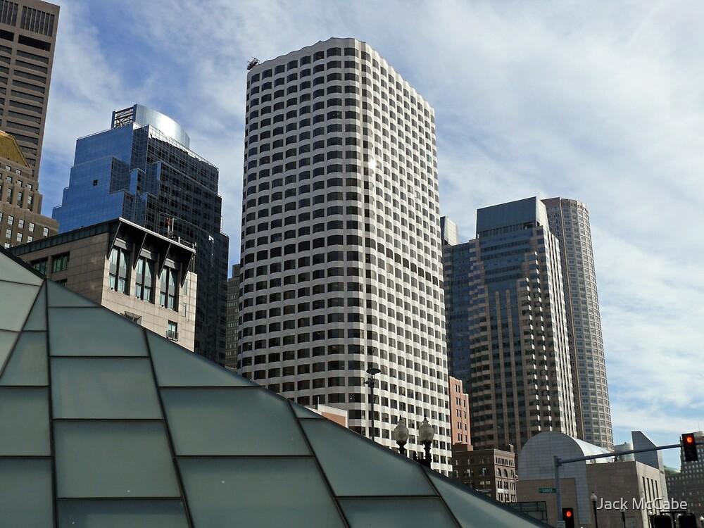 Boston Skyscrapers north of Atlantic Avenue, April in Boston Series *featured by Jack McCabe