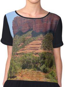 Sedona Majesty, Arizona Women's Chiffon Top