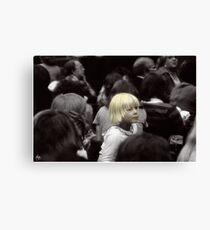 Fashionably Blond Canvas Print
