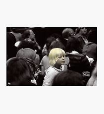 Fashionably Blond Photographic Print