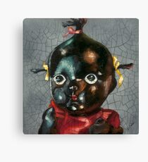 I'm Fine #5, (Antique Traditional Pikinini Doll) Canvas Print