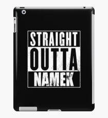 Straight Outta Namek iPad Case/Skin