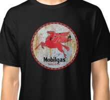 Vintage Mobil Gas and Oil sign rusty as heck. Classic T-Shirt