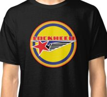 Lockheed Vintage Air craft USA Classic T-Shirt