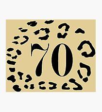 70 Amur Leopards Photographic Print