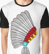 Indian Headdress Graphic T-Shirt