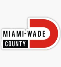 Miami Wade Sticker