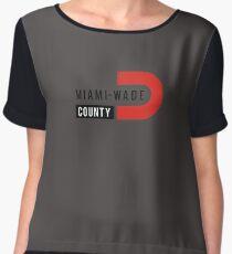 Miami Wade Women's Chiffon Top