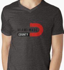 Miami Wade Mens V-Neck T-Shirt
