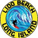 Surfing LIDO BEACH LONG ISLAND NEW YORK Surf Surfboard Waves by MyHandmadeSigns