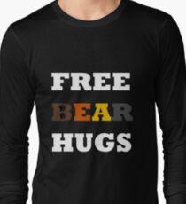 Free Bear Hugs! Long Sleeve T-Shirt