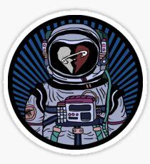 Safety Pin Astronaut Sticker