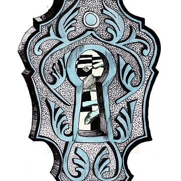Key Hole Illustration by sofiaarvanius