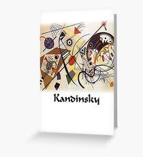 Kandinsky - Transverse Lines Greeting Card