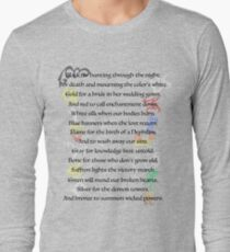 Shadowhunters Nursery Rhyme Long Sleeve T-Shirt
