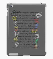 Shadowhunters Nursery Rhyme iPad Case/Skin