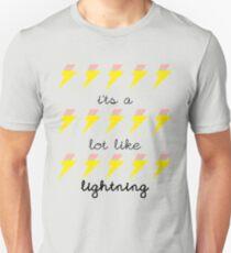 Lot Like Lightning Unisex T-Shirt