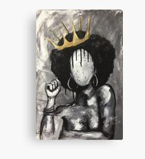 Naturally Queen Canvas Print