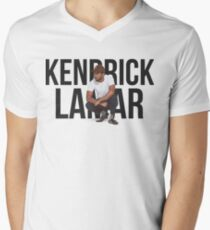 Kendrick Lamar - Text Portrait Men's V-Neck T-Shirt
