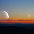 Double Moon Dusk by Daniel Owens