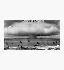 Bikini Atoll Nuclear Test Photographic Print