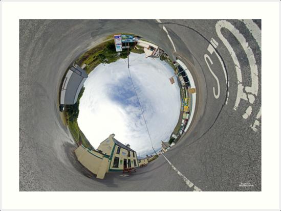 Glencolmcille - Biddy's Crossroads Pub(Sky-in) by George Row