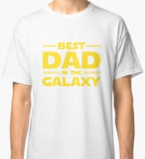 Star Wars - Best Dad in The Galaxy Classic T-Shirt