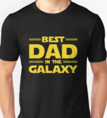 Star Wars - Best Dad in The Galaxy T-Shirt