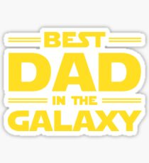 Best Dad in The Galaxy Sticker