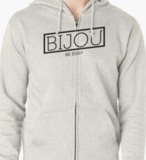 B I J O U Logo Zipped Hoodie